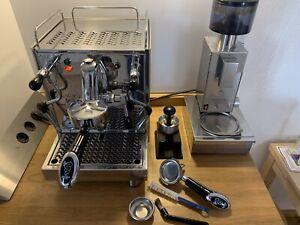 Bezzera Magica; Espressomaschine E61 und Mühle BB005 TM