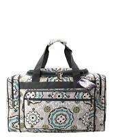 "Canvas 20"" carry on airplane/duffle/gym/overnight bag NWT FREE SHIP! Garden View"