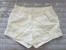 SOFT JOIE White Cotton Casual Shorts Size XS