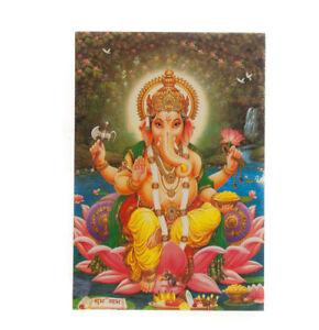 Postcard Lord Ganesh Son Of Shiva Hindu CA00F 8349