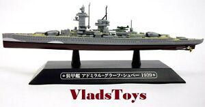 Eaglemoss 1:1100 Deutschland-class Heavy Cruiser Admiral Graf Spee 1939 #40