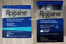 Men's Rogaine Extra Strength Hair Regrowth Solution or Foam 5% Minoxidil Men