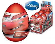 2pcs disney cars plastic egg surprise boys Kinder toy party favors +candy treats