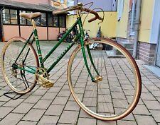 Hugo Rickert Spezial Damen Rennrad Vintage VGC Oro Green Gold Reynolds 531