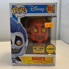 Pop! Disney Hades #381Chase Hot Topic Funko GID
