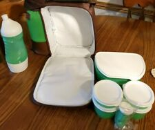 NEW Tupperware Insulated Lunch Bag Tote  8 pc Set with Water Bottle