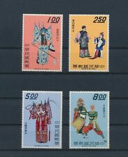 LL86446 China traditional clothing folklore fine lot MNH