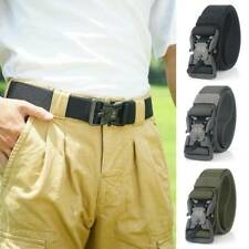Mens Military Tactical Magnetic Belt Army Combat Waistband Rescue Rigger Belts