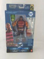 DC Multiverse Batman 80 Years KG Beast W/Killer Croc BAF Part Figure Mattel
