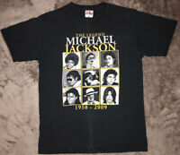 Vintage Michael Jackson T Shirt Sz Medium The Legend Commemorative Pop Icon