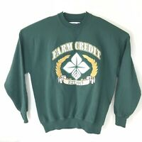 VTG 90s Farm Credit Heavy Weight Tag Mens 2XL Pullover Sweater Made In USA