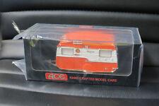 1/43 ACE MODEL CARS 1950's STYLIZED CARAVAN  TANGERINE AWESOME LOOKING MODEL LTD