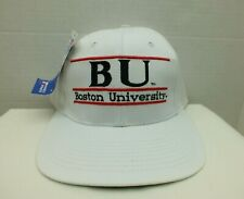 90'S BOSTON UNIVERSITY BEAVERS SNAPBACK CAP HAT VINTAGE NCAA G Cap