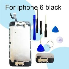 """iPhone (6 4.7"""")Black Screen Replacement Digitizer LCD Touch Home Button Camera"""