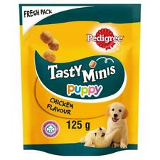 Pedigree Tasty Minis Puppy Junior Treats Chicken Flavour Chewy Snack Cubes