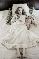 Antique Post Mortem Death Giving Birth Photo 108 Oddleys Strange & Bizarre