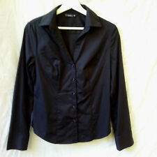 Size 10 S Shirt Top Blouse NEW Stretch Long Sleeve Corporate Work FREE POST