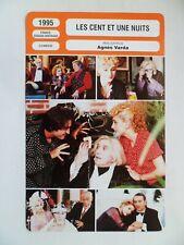 CARTE FICHE CINEMA 1995 LES CENT ET UNE NUITS Michel Piccoli M.Mastroianni Gayet