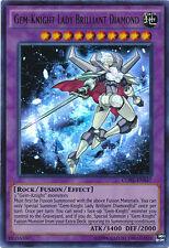 Yugioh CORE-EN047 Gem-Knight Lady Brilliant Diamond Ultra Rare Card
