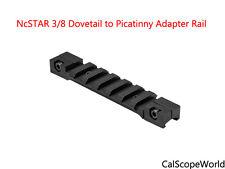 1 x NcStar--3/8 Dovetail to Picatinny Adapter Rail -Short