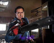 Bruce Campbell Ash VS Evil Dead SIGNED AUTOGRAPHED 10X8 PRE-PRINT PHOTO