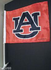 AUBURN CAR WINDOW FLAGS SET OF 2, COLLEGE-NCAA, ADULT,UNI-SEX REGULAR SEASON,