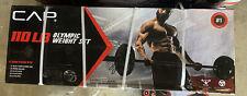 🔥CAP 110 LB Olympic Weight Set (2x 25lb, 10lb, 5lb) + 30lb Bar - Home Gym 🔥
