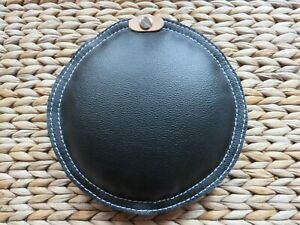 """JEWELLERS SAND PAD HYGIENIC LEATHER SAND BAG 6"""" (15CM) FILLED SILVER SAND"""
