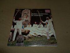 MUSICA Y CANCIONES DE HONDURAS 1975 VINYL LP