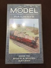 VHS Tape - Model Railways. How To Build A Model Railway