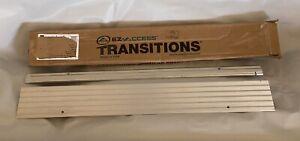 EZ-ACCESS TRANSITIONS TMER 1 Modular Aluminum Entry Ramp, 1' Rise