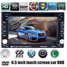 6.5' Car Stereo Bluetooth FM/AM Radio DVD CD Player USB/SD/EQ Touch Screen 2 DIN