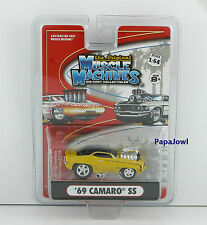 Muscle Machines 1969 Chevrolet Camaro 69 Chevy SS Motorsports Authentic 1:64