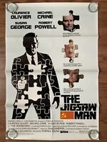 THE JIGSAW MAN One Sheet Movie Theatre Poster - 1984 - Laurence Olivier