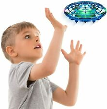 Anti-Collision Mini Drone Flying Toys Hand Operated Hands Free UFO Helicopter