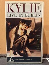 Kylie Minogue- Live In Dublin - VHS