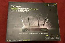 Amped Wireless Titan - High Power Ac1900 Wi-Fi Range Extender Router (Rta1900)