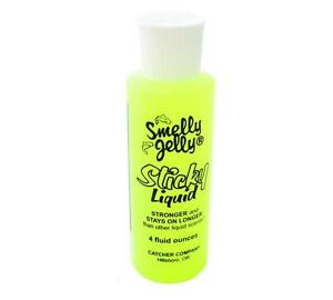 Smelly Jelly Sticky Liquid Fishing Attractant Scent 4 Ounce Bottle You Choose