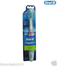 Oral-B CrossAction Power Electric Dual Clean Toothbrush, PINK, Soft Bristles