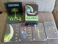 ALIEN LEGACY 20TH ANNIVERSARY EDITION - 5 X DVD ENGLISH 4 FILMS BOX SET Am