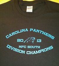 Carolina Panthers NFC South 2013 Champions t-shirt cam Newton steve smith