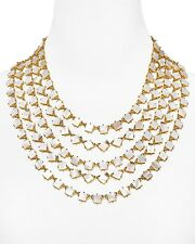 KATE SPADE RARE PEARL COVE 5 STRAND BIB NECKLACE shell MOTHER OF PEARL BRIDAL