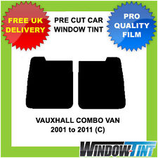 Pre-Cut Window Tint - VAUXHALL COMBO VAN 2001-2011 (C) - Rear Windows