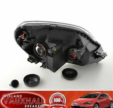 VAUXHALL ZAFIRA B HEADLAMP HEADLIGHT BLACK PASSENGER NEAR SIDE SRI DESIGN VXR