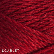 50g Balls - Patons Inca 14ply 70% Wool-Alpaca - Scarlet #7040 - $6.25 A Bargain
