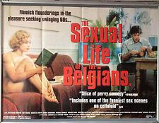 Cinema Poster: SEXUAL LIFE OF THE BELGIANS, THE 1994 (Quad) Jean-Henri Compère