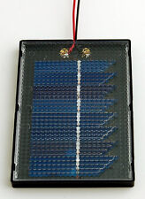 NEW Solar Made Solar Mini Panel: 4-4.0-100 4.0Volts/100mA Solar Panel