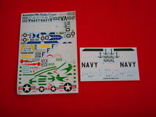1/72 Print-Scale 72-113 F9F Panther/Cougar VF-111, 112, 43 , VA-76 USMC NOS 0-19