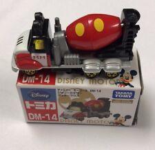 Takara Tomy Tomica Disney Motors DM-14 Jelly Mixer Mickey Mouse - Ships From USA