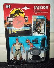 JURASSIC PARK  VINTAGE FIGURE JACKSON 1993 carded dino trackers